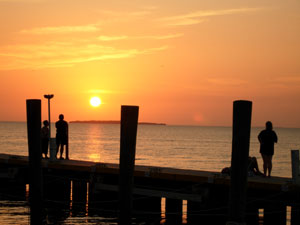 Sunset in Key Largo February 2007